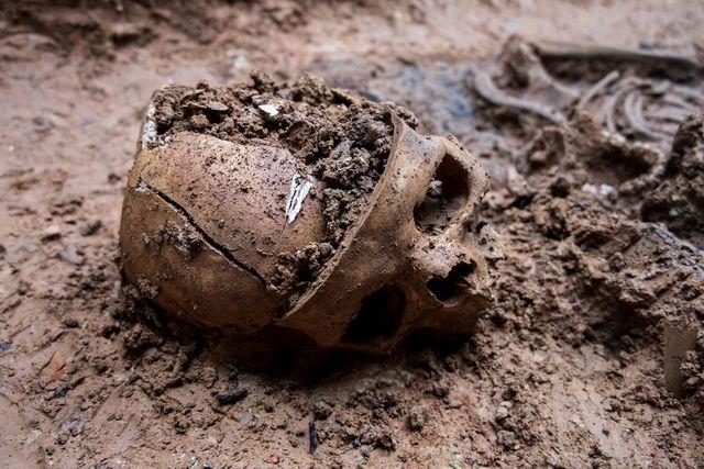 FUNNET: Levningene ble funnet etter nitid detektivarbeid i regi av organisasjonen, ARMH.