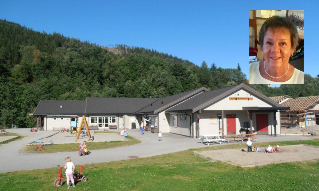c295e617 KJEMPER MOT SALG: Heidi Simensen, styrer i Liøya barnehage, er redd  barnehagen blir