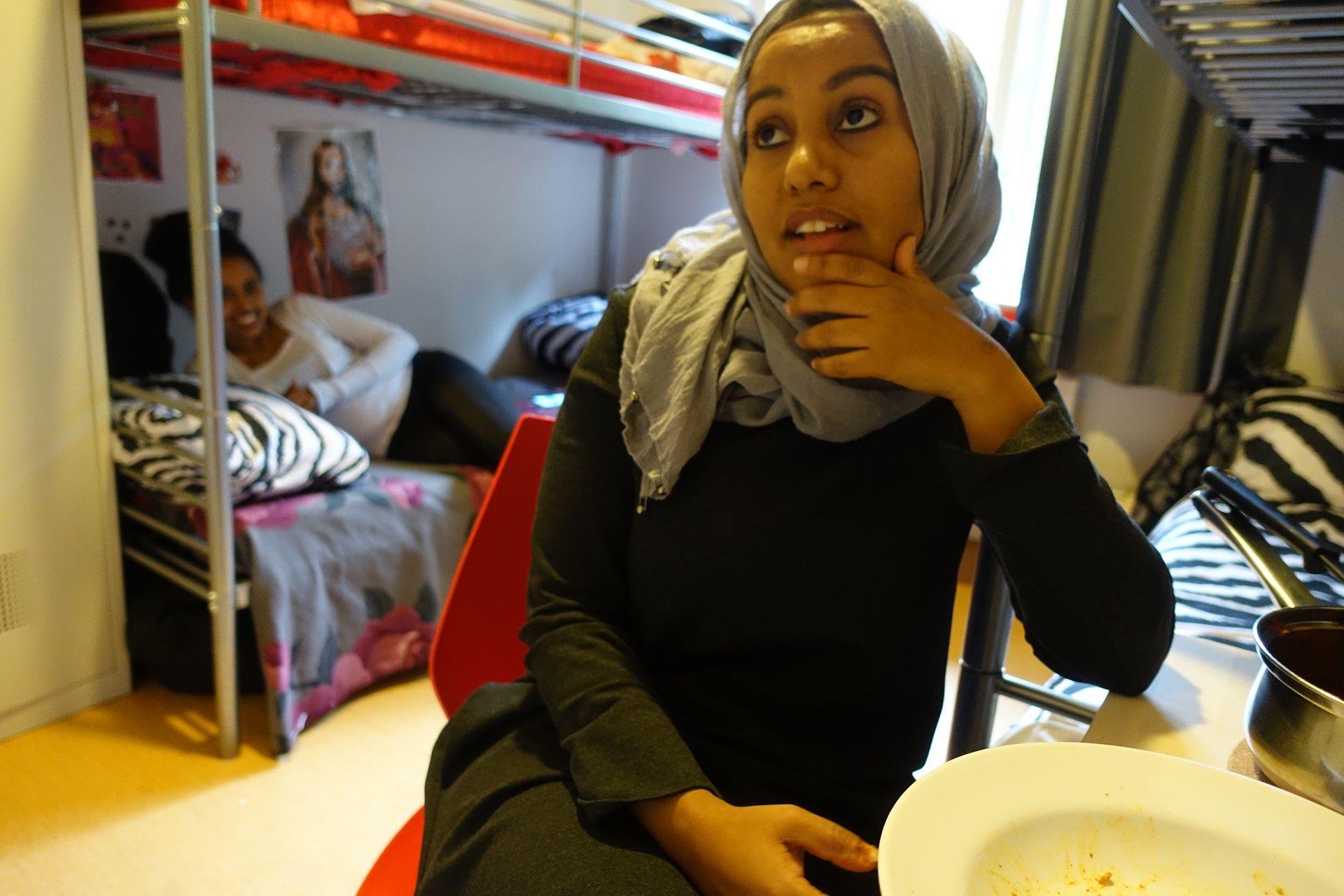 ASYLSØKER: Leila Khaled må klare seg med 80 kroner dagen.