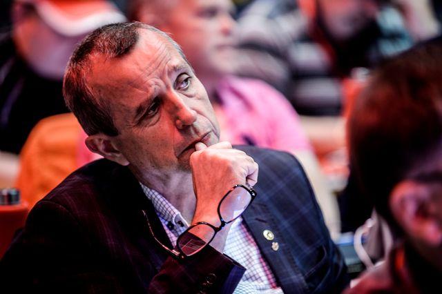 Atle Tranøy, avdelingsleder for Fellesforbundet i Sunnhordland.