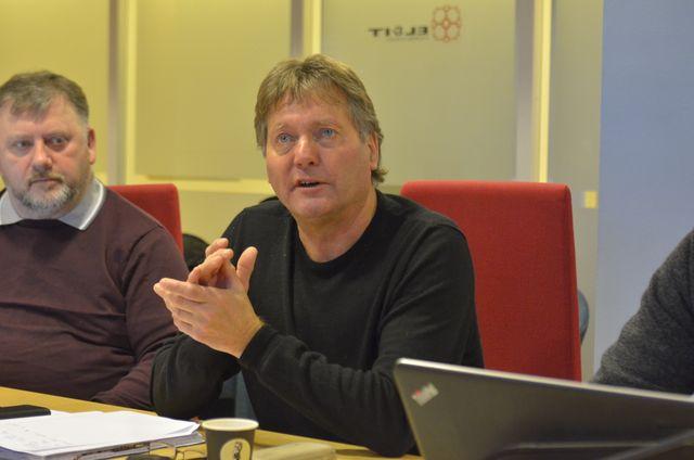 STOLTE: - Vi er stolte over både jobben vi gjør og bransjen vi tilhører, sier Svein Davidsen, konserntillitsvalgt i BKK og forbundsstyremedlem i EL og IT Forbundet.