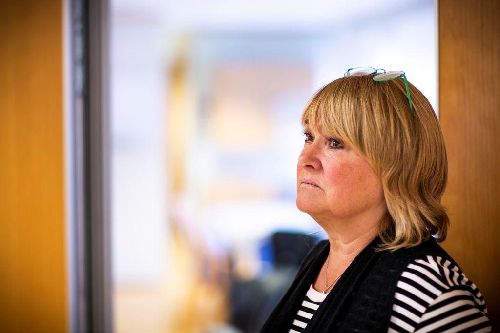 FORBEREDER TØFFE TAK: Jane B. Sætre er forberedt på tøffe tak, når forbundet skal forhandle om lønns- og arbeidsbetingelsene til de ansatte i Go-Ahead.